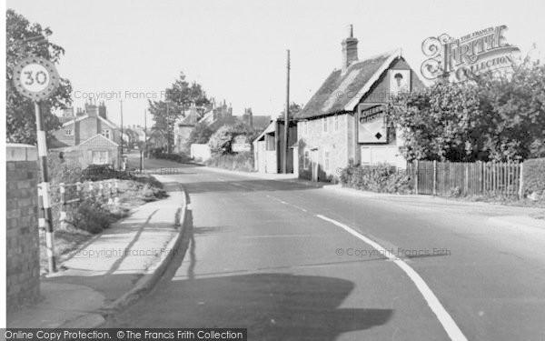 Photo of Wickham Market, The Village 1954