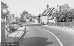 Wickham Market, The Village 1954