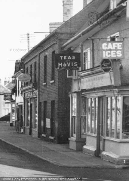 Photo of Wickham Market, Village Shop 1954