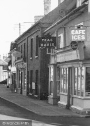 Wickham Market, Village Shop 1954