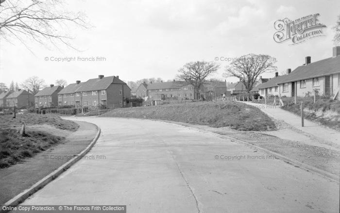 Photo of Wickham, Meon Park 1957