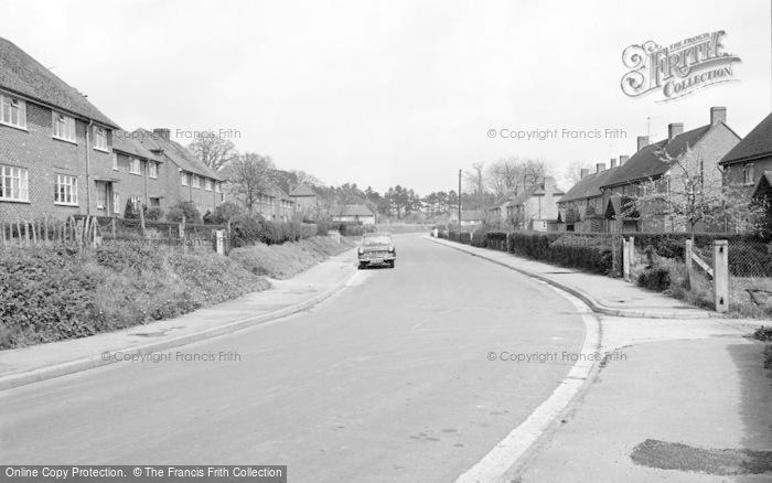 Photo of Wickham, Meon Park Estate 1964
