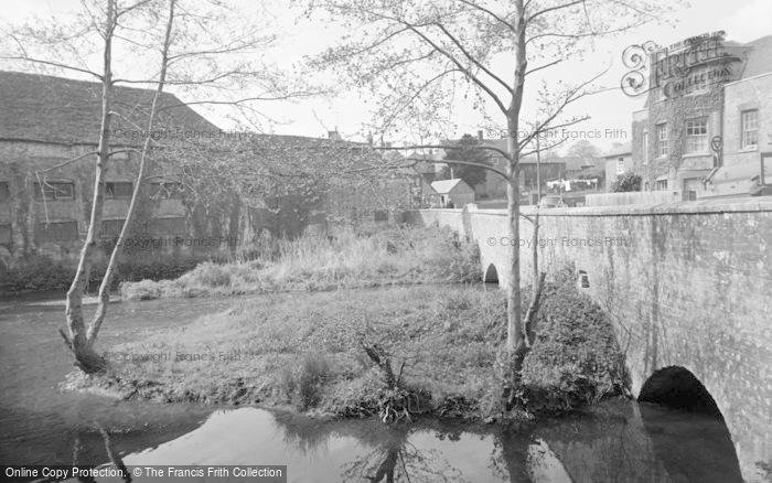 Photo of Wickham, Mill Bridge 1957