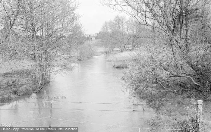 Photo of Wickham, Mill Stream 1964
