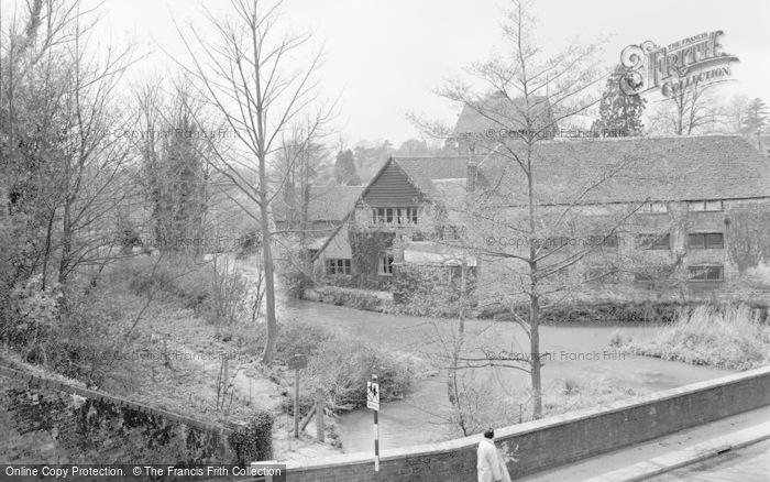 Photo of Wickham, River Meon And Hall 1964