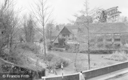 Wickham, River Meon And Hall 1964