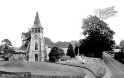 Wickham, St Nicholas'  Church 1969