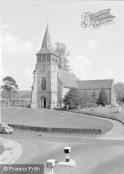 Wickham, St Nicholas Parish Church 1957