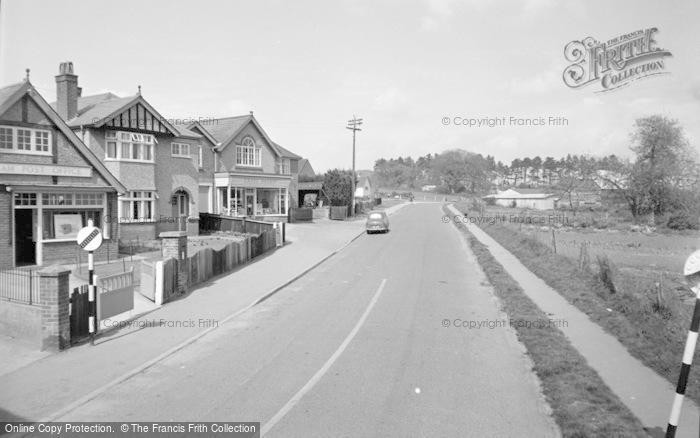 Photo of Wickham, Station Road 1957