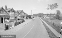 Wickham, Station Road 1957