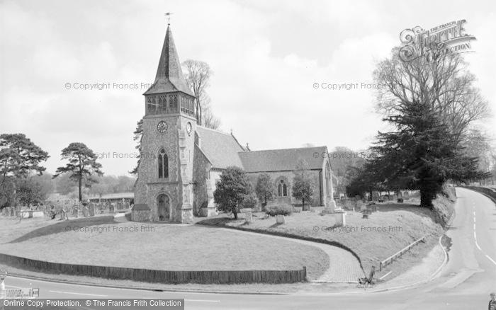 Photo of Wickham, The Church 1964