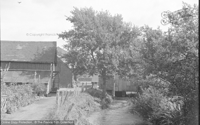 Photo of Wickham, The Old Mill 1951