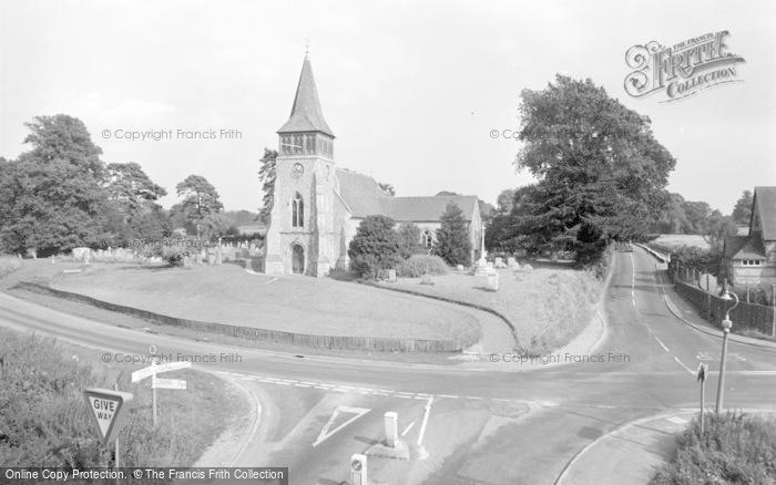 Photo of Wickham, The Parish Church 1969