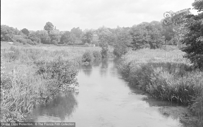 Photo of Wickham, The River Meon 1951