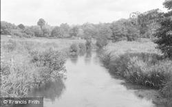 Wickham, The River Meon 1951