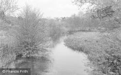Wickham, The River Meon 1957