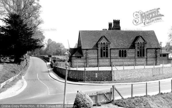 Photo of Wickham, The School 1957