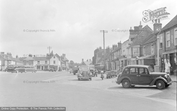 Photo of Wickham, The Square 1951