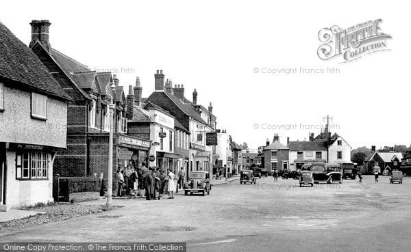 Photo of Wickham, The Square 1951