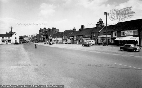 Photo of Wickham, The Square 1957