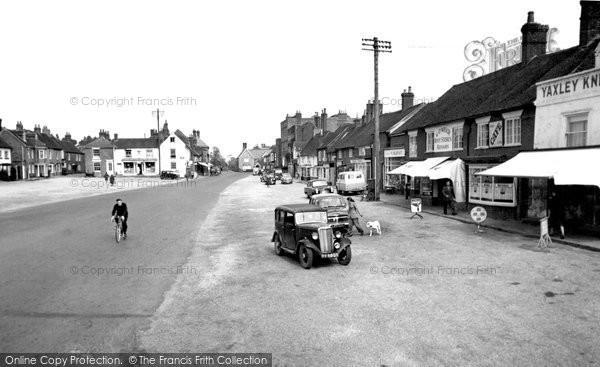 Photo of Wickham, The Square 1957