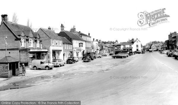 Photo of Wickham, The Square 1964