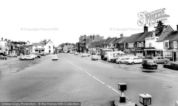 Photo of Wickham, The Square 1964