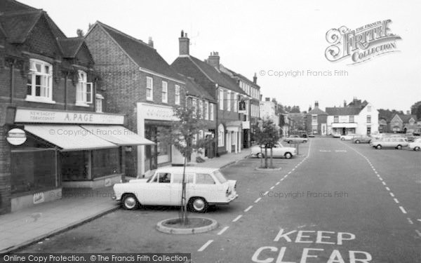 Photo of Wickham, The Square 1969