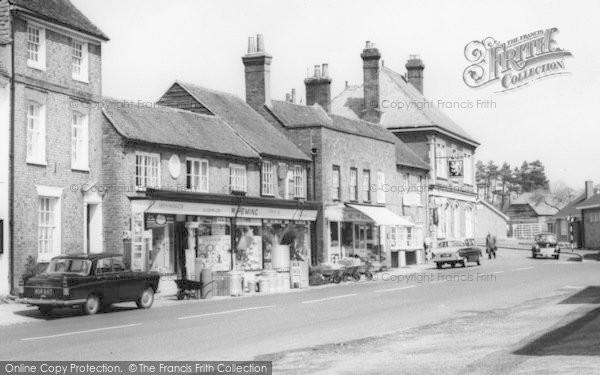 Photo of Wickham, The Square, Heming's Ironmongers Shop 1964