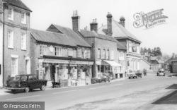 Wickham, The Square, Heming's Ironmongers Shop 1964