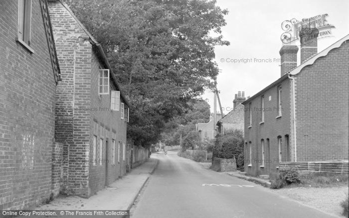 Photo of Wickham, Winchester Road 1951