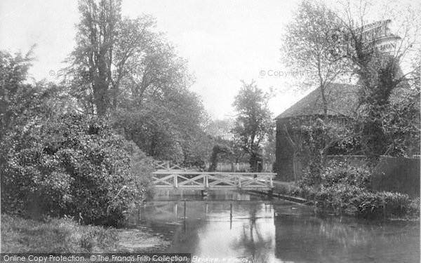 Photo of Wickhambreaux, From The Bridge 1903