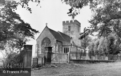 St Andrew's Church c.1955, Wickhambreaux