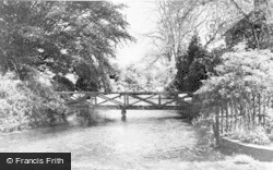 The Lesser Stour c.1955, Wickhambreaux
