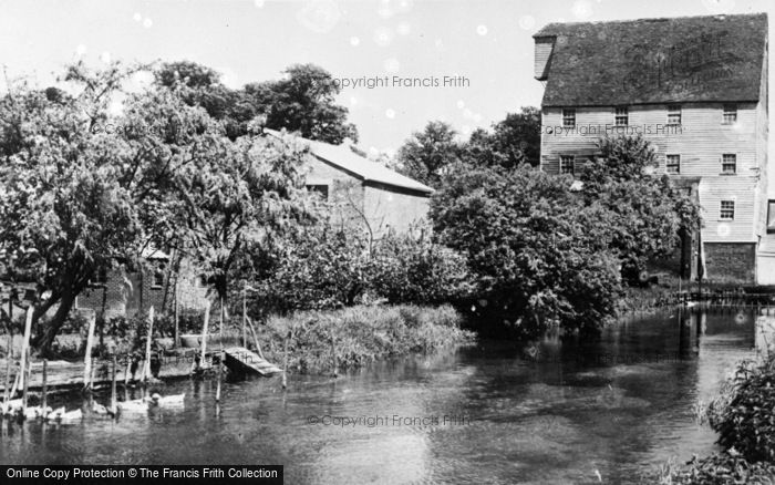 Photo of Wickhambreaux, The Mill c.1955