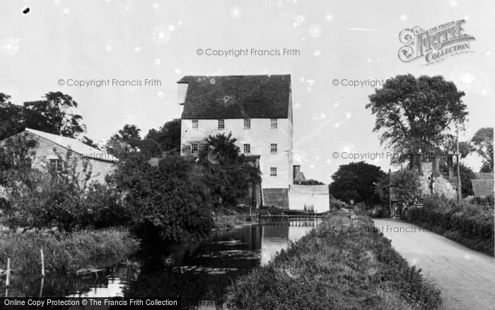 Photo of Wickhambreaux, The Old Mill c.1955