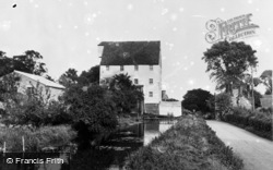 The Old Mill c.1955, Wickhambreaux