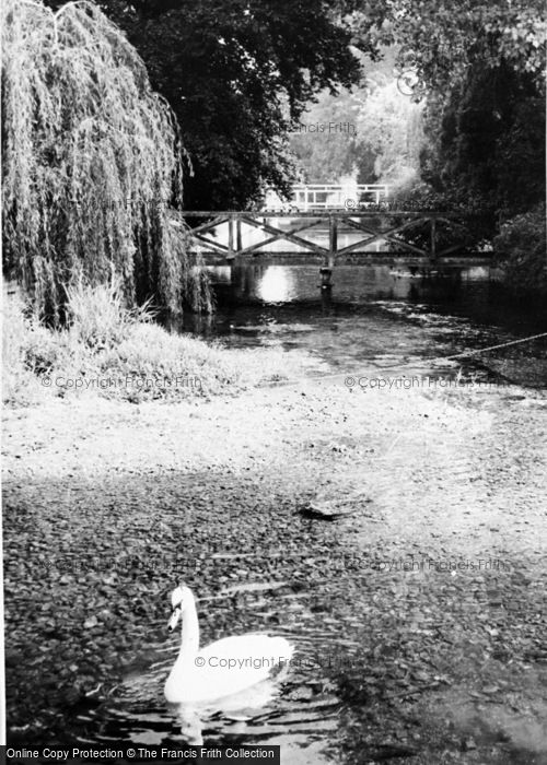Photo of Wickhambreaux, The River c.1960