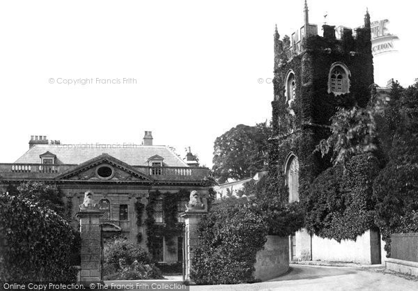 Photo of Widcombe, St Thomas A Becket Church And Vicarage 1874