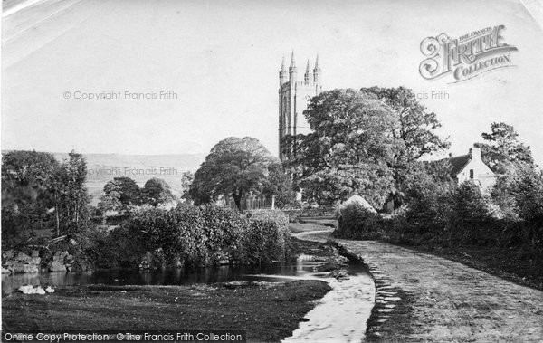 Photo of Widecombe In The Moor, c.1871