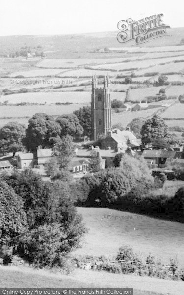 Photo of Widecombe In The Moor, c.1960