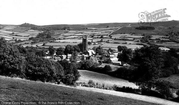 Photo of Widecombe In The Moor, c.1960
