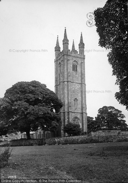 Photo of Widecombe In The Moor, Church Of St Pancras 1890
