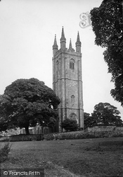 Church Of St Pancras 1890, Widecombe In The Moor