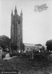 Church Of St Pancras 1907, Widecombe In The Moor