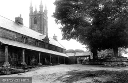 Widecombe In The Moor, Church Of St Pancras And Almshouses 1907