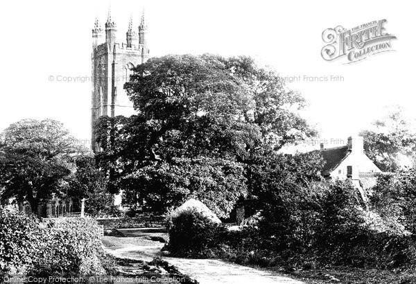Widecombe-In-The-Moor, the Church 1907