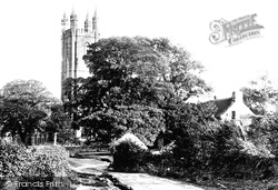 Church Of St Pancras c.1869, Widecombe In The Moor
