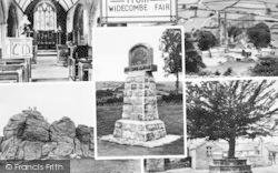 Composite c.1955, Widecombe In The Moor