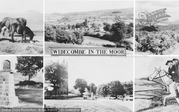Photo of Widecombe In The Moor, Composite c.1960